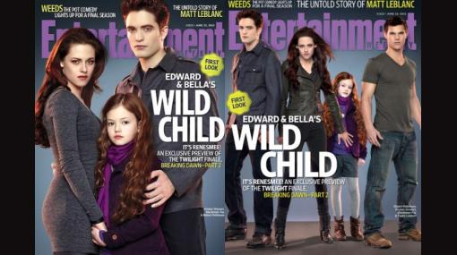 """""""Crepúsculo"""": publican primera foto de Renesmee, la hija de Bella y Edward"""