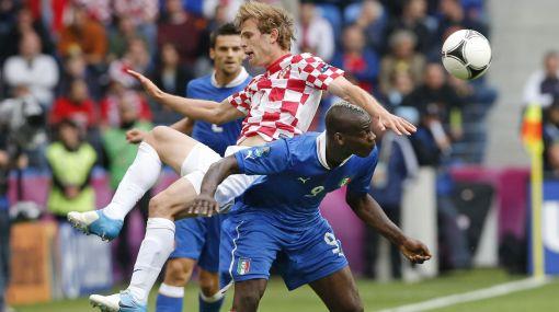 Eurocopa 2012: Italia empató 1-1 ante Croacia