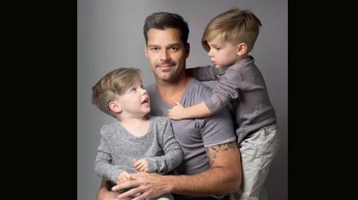 """Ricky Martin compartió tierna fotografía por el """"Día del padre"""""""