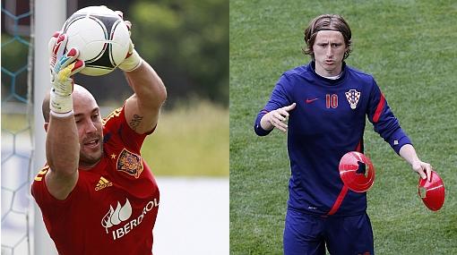 """""""Croacia no es sólo Modric, son once jugadores"""", dijo el golero español Reina"""