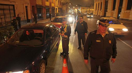 Más de 100 conductores ebrios fueron intervenidos en la víspera del Día del Padre