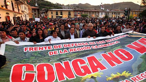 Protesta en Cajamarca: a casi 20 días de paro contra Conga no hay muestras de diálogo