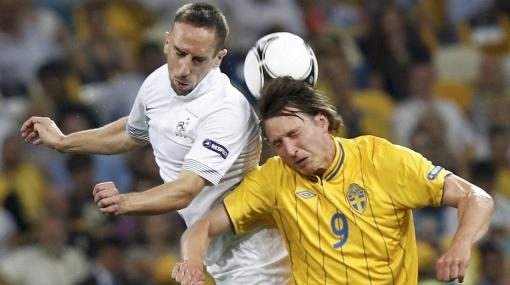 Eurocopa 2012: Francia perdió 2-0 ante Suecia, pero igual clasificó