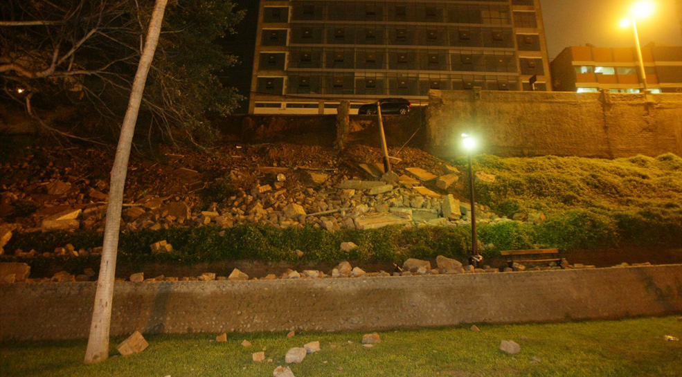 Miraflores: revisarán el malecón para descartar peligro de nuevo derrumbe