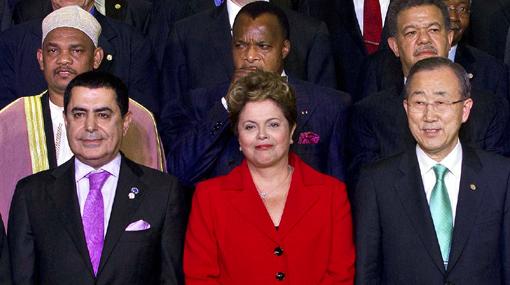 Lo que dijeron los presidentes en la primera parte de la Cumbre del Río+20