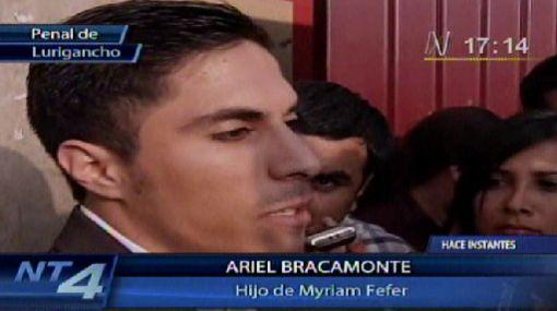 """Ariel Bracamonte en juicio oral: """"Se hicieron preguntas para violar mi privacidad"""""""
