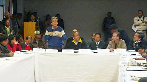 Diálogo entre Gobierno y autoridades de Espinar dio sus primeros frutos
