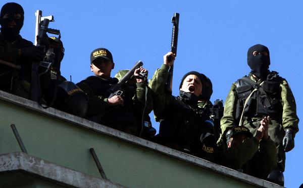 Bolivia: huelga policial a nivel nacional pone en vilo a Evo Morales