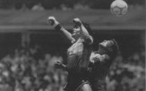 La mano de Dios cumple 27 años: ¿por qué se llamó así el gol de Maradona? - Noticias de peter shilton