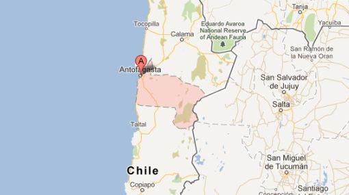 Chile también tembló hoy por sismo de 5,8 grados