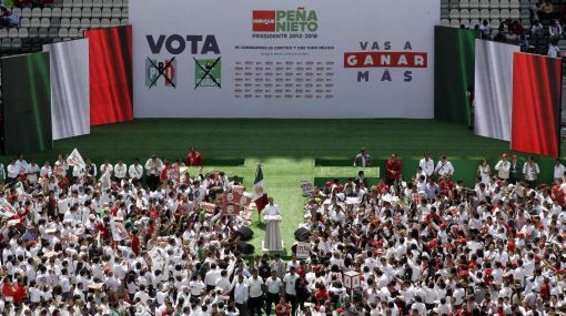 México: candidatos buscan voto de indecisos a una semana de elecciones