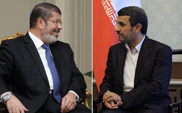 El Egipto del flamante presidente Mohamed Mursi se acerca a Irán
