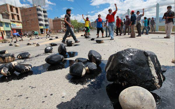 Cajamarca: dirigentes antimineros acordaron radicalizar su protesta