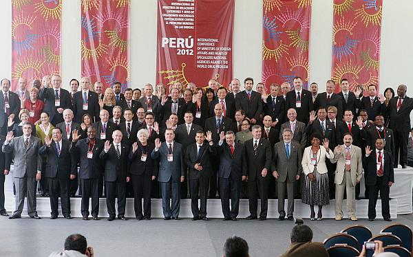 Cumbre antidrogas concluyó con compromiso de reforzar lucha contra el narcotráfico