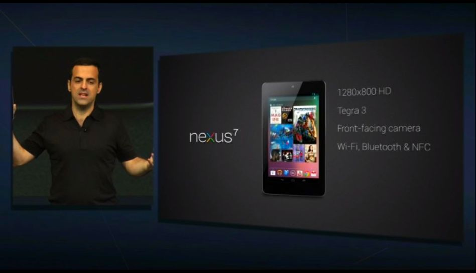 FOTOS: Nexus 7 de Google, la tableta que competirá con Ipad y Kindle