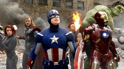 """""""Los Vengadores"""" se consagró como la tercera película más taquillera de la historia"""