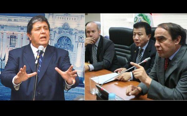 Megacomisión aún no se pone de acuerdo en responsabilidad de Alan García
