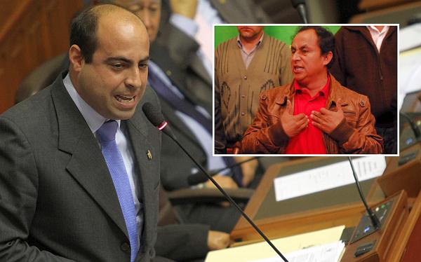 """Spadaro: """"Nuevas causales de vacancia no son por actitud de Gregorio Santos"""""""