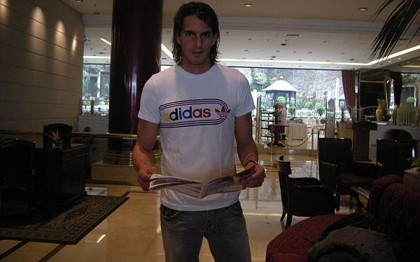 """José Carlos Fernández desde Argentina: """"Me siento contento y maduro"""""""