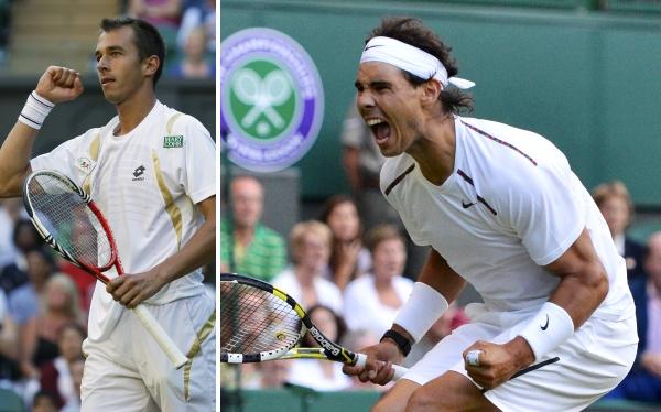 Un desconocido elimina a Rafael Nadal de Wimbledon