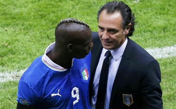 """Prandelli, DT de Italia: """"La carrera de Balotelli recién está empezando"""""""