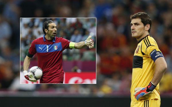"""Iker Casillas previo a la final de la Euro: """"Buffon ha sido una referencia para mí"""""""