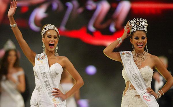Cindy Mejía y Melissa Paredes coronadas como nuevas reinas de belleza peruanas