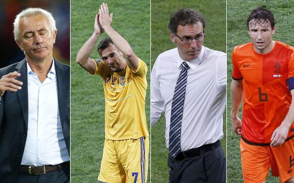 Eurocopa 2012: entérate quiénes dejaron su selección tras el torneo