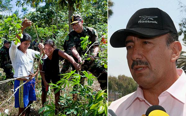 Comisionado del Vraem invita a congresistas a visitar zona narcoterrorista