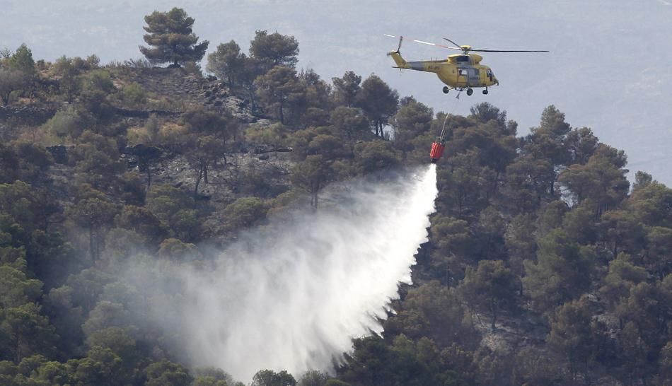 FOTOS: incendios en España arrasan con bosques y aún no se controlan