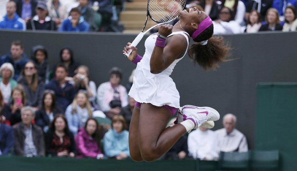 FOTOS: la pena de Maria Sharapova tras ser eliminada de Wimbledon y la jornada en imágenes