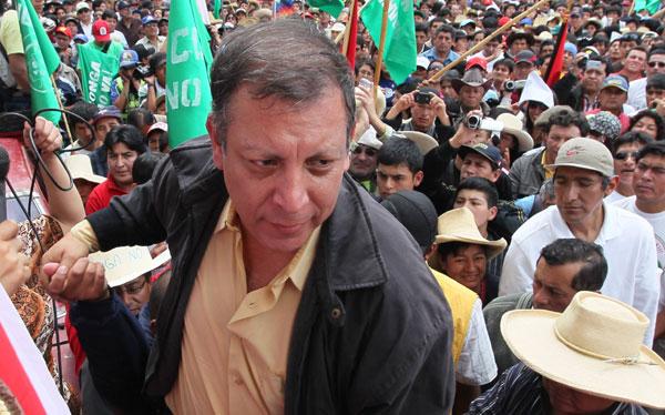 """Marco Arana: """"El inicio de trabajos de Conga enardeció a ciudadanos de Cajamarca"""""""