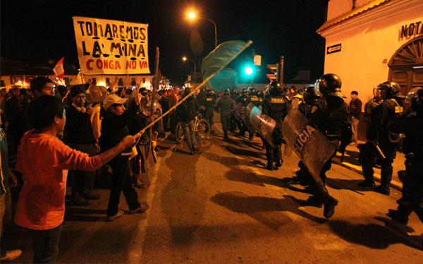 Desde hoy rige Estado de emergencia en tres provincias de Cajamarca