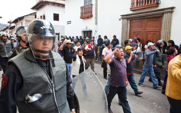 Manifestantes pidieron libertad de detenidos por protestas en Cajamarca