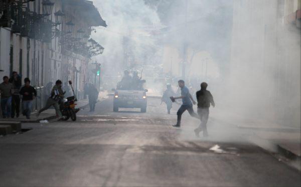 Cajamarca: enfrentamientos de hoy dejan al menos 10 detenidos