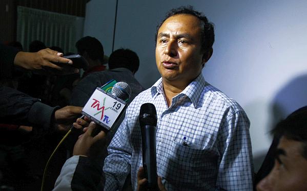 Gregorio Santos acudió de incógnito a velorio de víctimas de protestas en Cajamarca