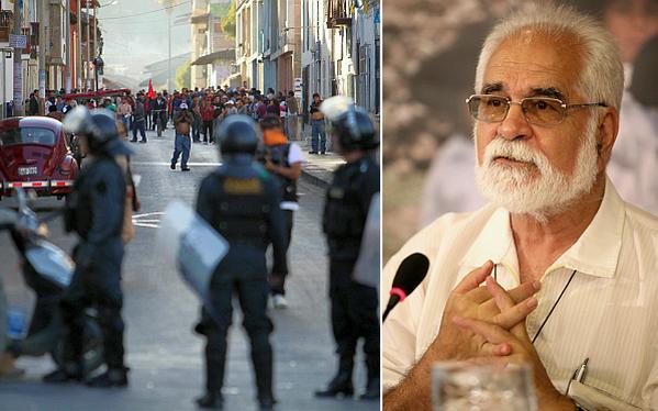 """Garatea: """"En Cajamarca están empecinados unos y otros en no dialogar"""""""