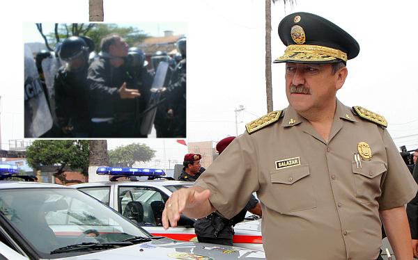 Marco Arana fue detenido luego de tres advertencias, detalló director de la Policía