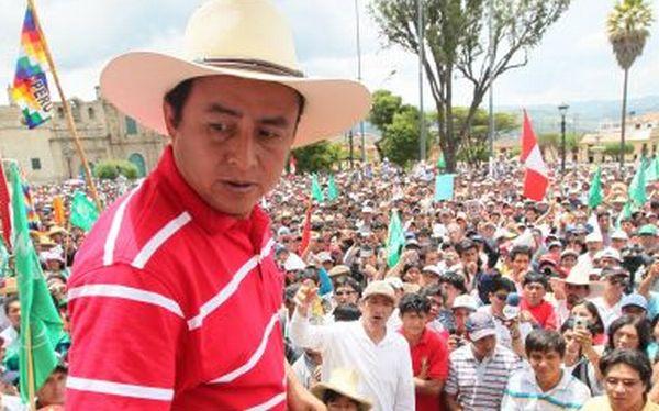 Gregorio Santos no accedió a intermediación de obispo de Cajamarca