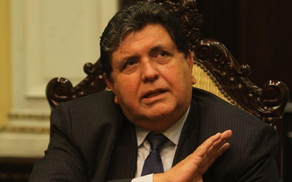 La megacomisión acusará a Alan García y a cuatro de sus ex ministros