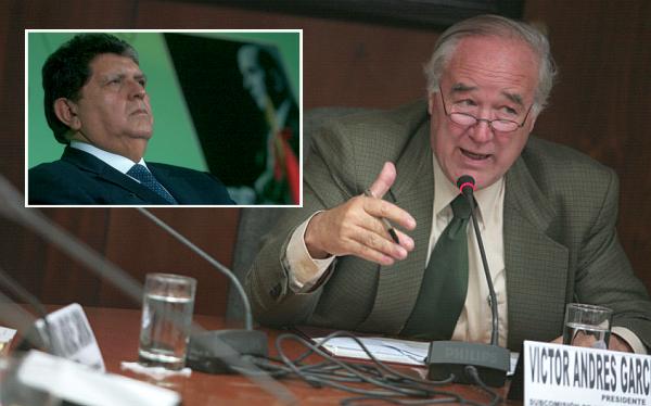 """""""Como está, el informe de la megacomisión no sirve para acusar a García"""""""
