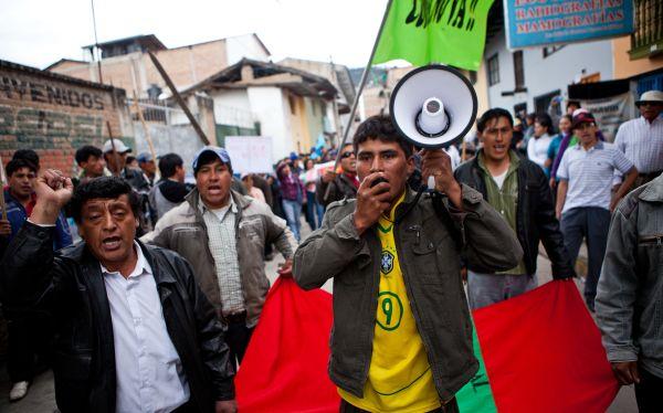 CIDH pidió a las autoridades poner fin a la violencia en Cajamarca
