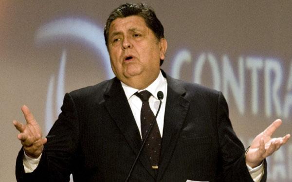 Megacomisión planea citar nuevamente a Alan García en noviembre