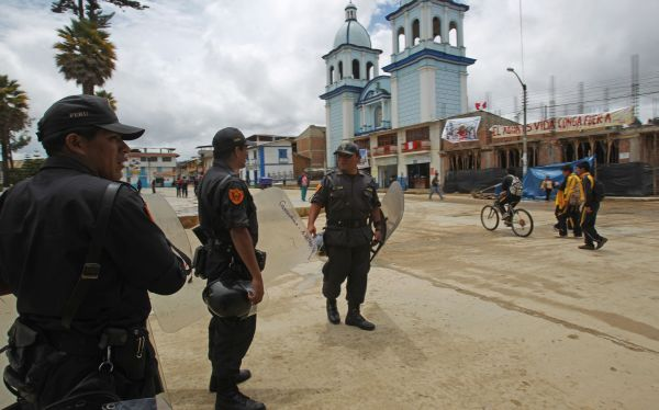Estado de emergencia: Cajamarca y Celendín están en tranquilidad