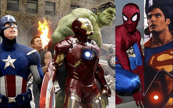 Del cómic a la pantalla grande: superhéroes de leyenda