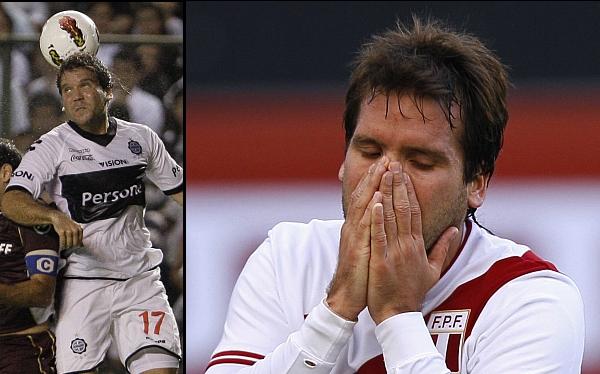 Renzo Revoredo fue expulsado y perdió el título del fútbol paraguayo