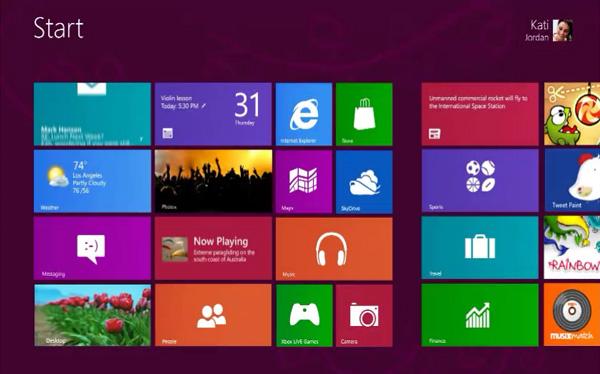 Windows 8 estará a la venta a finales de octubre