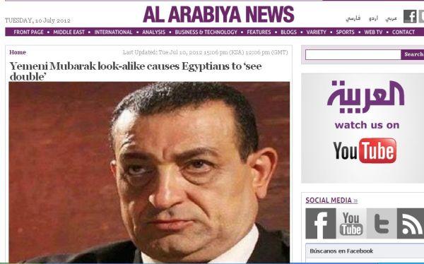 El Cairo: fue confundido con Mubarak e intentaron atraparlo