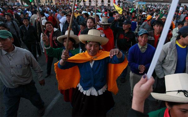 Antimineros de Cajamarca acatan desde hoy paro de 48 horas pese a diálogo