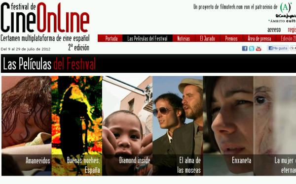 El II Festival de Cine Online permite ver cintas en tabletas y celulares